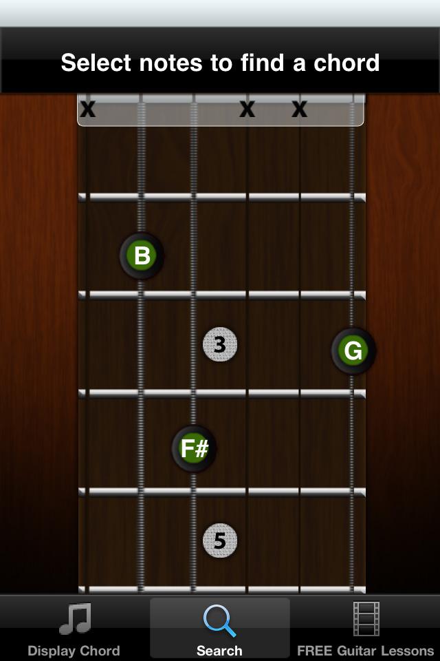 Guitar Jamz Guitar Chord Library Lite App